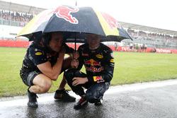 Max Verstappen, Red Bull Racing RB12 op de grid