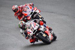 Danilo Petrucci, Pramac Racing et Andrea Dovizioso, Ducati Team