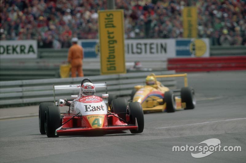 Tom Kristensen in der Deutschen Formel 3 am Norisring 1991