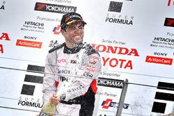 Podium: Sieger Joao Paulo de Oliveira, Team Impul