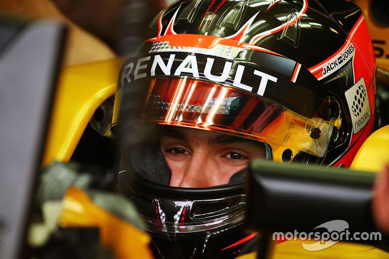 Esteban Ocon, Renault Sport F1 Team RS16 Test Pilotu