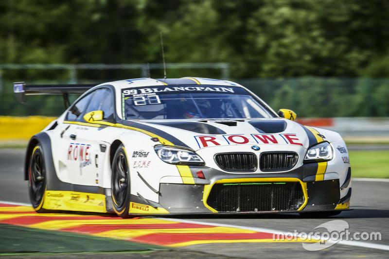 19. #99 Rowe Racing, BMW M6 GT3: Maxime Martin, Philipp Eng, Alexander Sims