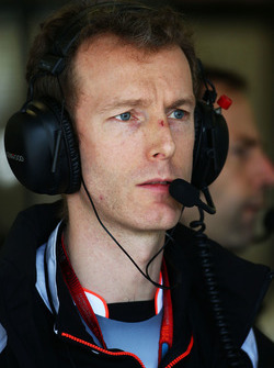 Mark Temple, McLaren, Renningenieur
