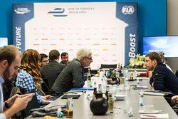 Berlin ePRix basın toplantısı