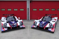 The two Ligier JS P3 from United Autosports