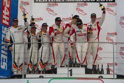 Podium TCR: 1. #140 PCR Sport Seat Leon Cup Racer: Harriet Arruabarrena, Antonio Aristi, Jordi Masde