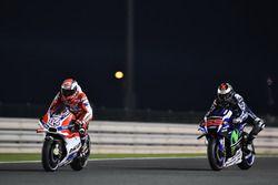 Andrea Dovizioso, Ducati Team, Ducati y Jorge Lorenzo, Movistar Yamaha MotoGP, Yamaha