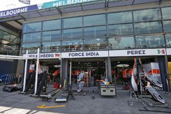 Box Sahara Force India F1 Team