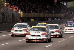 Франк Била, Ханс-Йоахим Штук и Хуберт Хаупт, Audi V8 quattro,