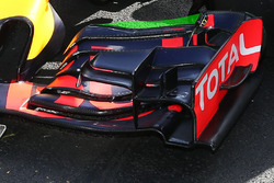 L'aileron avant de la Red Bull Racing RB12