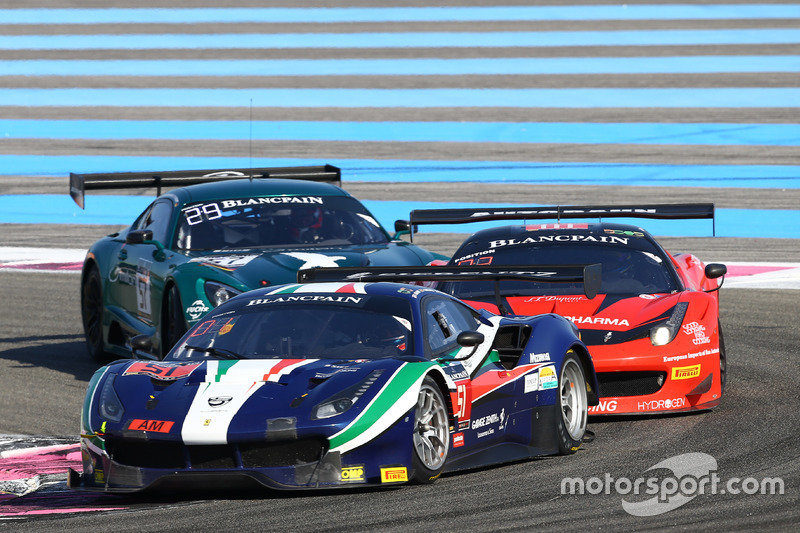 #51 AF Corse Ferrari 488 GT3: Peter Mann, Francisco Guedes, Rino Mastronardi