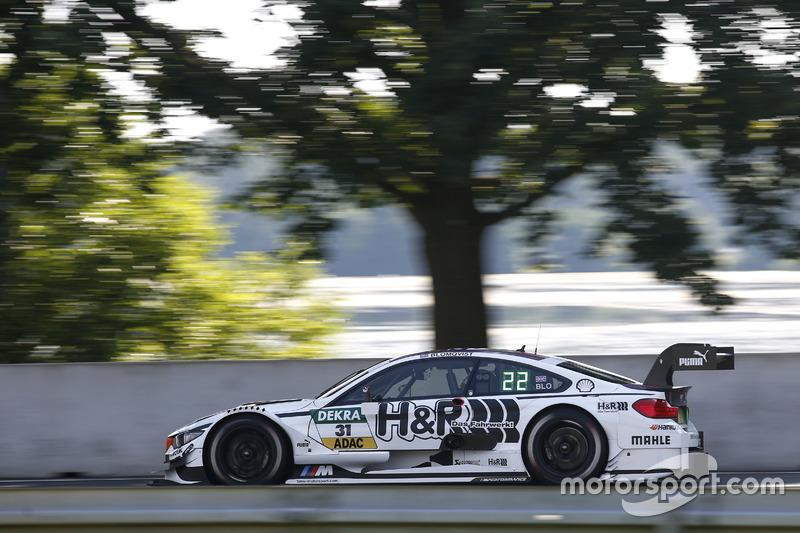 Norisring 2: Tom Blomqvist (RBM-BMW) nach Strafe gegen Mattias Ekström