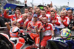 Le poleman Andrea Dovizioso, Ducati Team