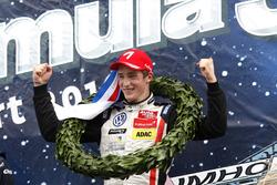 Podium: Ganador, Joel Eriksson, Motopark Dallara F316 – Volkswagen