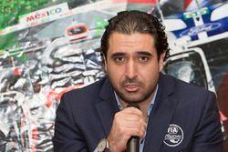 Jorge Abed comisario de FIA