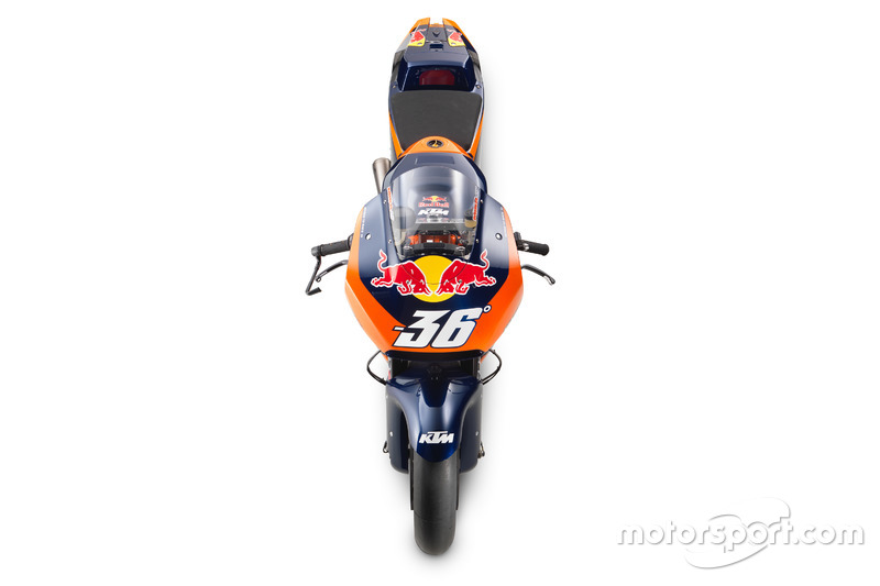 La KTM RC16 MotoGP