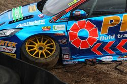 Crash, Andrew Jordan, Pirtek Racing