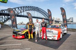 Chaz Mostert, Craig Lowndes und James Courtney