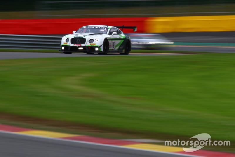 #8 Bentley Team M-Sport, Bentley Continental GT3: Andy Soucek, Wolfgang Reip, Maxime Soulet