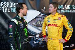 Kurt Busch y Ryan Hunter-Reay