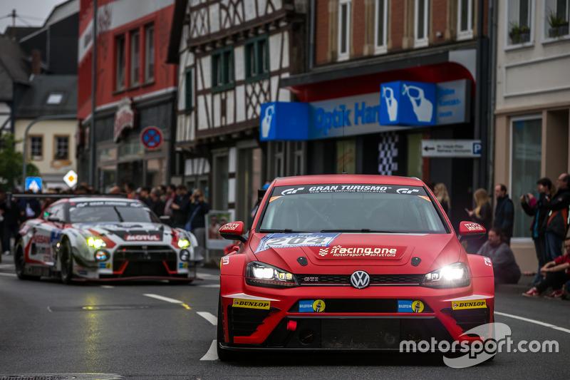 #204 racing one, Volkswagen Golf GTI TCR: Benjamin Leuchter, Fabian Danz; Tim Zimmermann