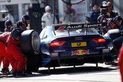 Pit stop Mattias Ekström, Audi Sport Team Abt Sportsline, Audi A5 DTM