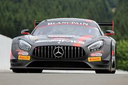 #84 AMG Team HTP Motorsport Mercedes AMG GT3: Dominik Baumann, Jazeman Jaafar, Maximilian Bühk