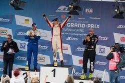 Podium: Winner Steffi Halm, MAN; second place Jochen Hahn, MAN; third place Norbert Kiss, Mercedes-Benz