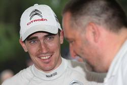 Stéphane Lefebvre, Citroën DS3 WRC, Abu Dhabi Total World Rally Team con Yves Matton, Citroën Motors