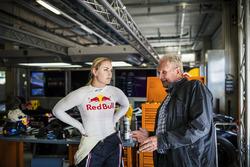 Lindsey Vonn im Gespräch mit Dr. Helmut Marko
