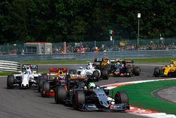 Nico Hulkenberg, Sahara Force India F1 VJM09 al comienzo de la carrera