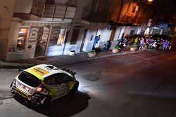 Stefano Baccega e Marco Menchini, Ford Fiesta R5, Erreffe Rally Team