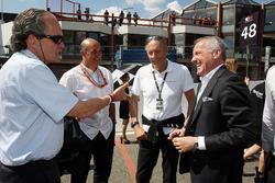 Otmar Velti; Jamie Puig, SEAT, Hans-Joachim Stuck, DMSB; Marcello Lotti, CEO TCR International