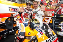 Race winner Marc Marquez, Repsol Honda Team, Emilio Alzamora