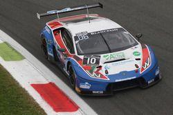 #10 Ombra Racing, Lamborghini Huracan GT3: Matteo Beretta, Giovanni Berton, Stefano Costantini