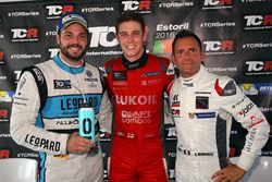 Stefano Comini, Leopard Racing, Volkswagen Golf GTI TCR; 54 ; Gianni Morbidelli, West Coast Racing, Honda Civic TCR