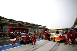 Adrien Tambay, Audi Sport Team Rosberg, Audi RS 5 DTM and Jamie Green, Audi Sport Team Rosberg, Audi