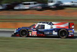 #60 Michael Shank Racing with Curb/Agajanian Ligier JS P2 Honda: John Pew, Oswaldo Negri Jr., Olivie