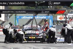 Pit stop, Daniel Juncadella, Mercedes-AMG Team HWA, Mercedes-AMG C63 DTM