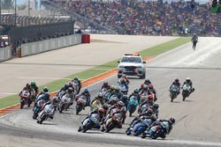 Start: Enea Bastianini, Gresini Racing Team Moto3 leads