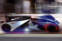 2018 Formula E Fantezi Konsept Tasarım