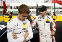 Пол ди Реста, Mercedes-AMG Team HWA, Mercedes-AMG C63 DTM, и Максимилиан Гётц, Mercedes-AMG Team HWA