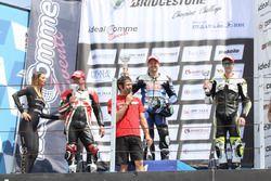 Classe 1000, podio Gara 1