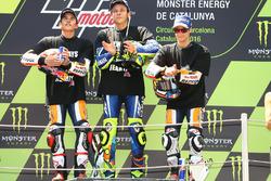 Marc Marquez, Repsol Honda Team, Valentino Rossi, Yamaha Factory Racing, Dani Pedrosa, Repsol Honda Team
