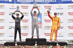 Podium: 1. Will Power, Team Penske, Chevrolet; 2. Simon Pagenaud, Team Penske, Chevrolet; 3. Ryan Hunter-Reay, Andretti Autosport Honda