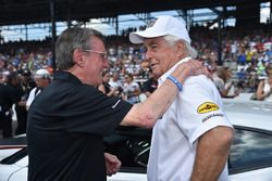 Roger Penske, Johnny Rutherford