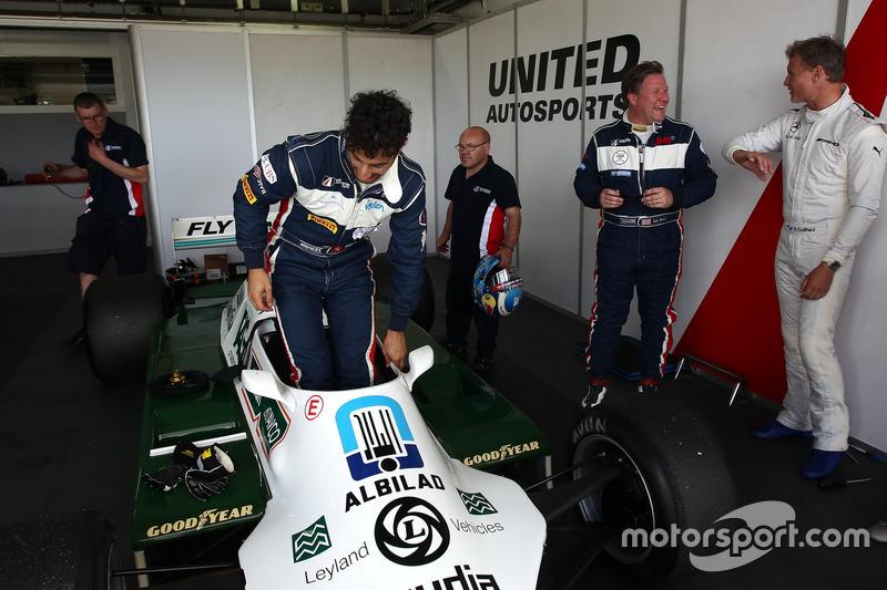 Daniel Ricciardo, Zak Brown e David Coulthard