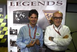 Alex Criville awarded the Legends Medal