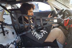 Alessio Rovera, Tsunami RT, al volante della sua Porsche 911 GT3 Cup