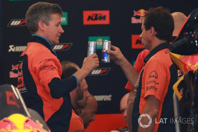 Team member of Red Bull KTM Factory Racing